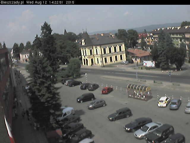 Pierwszy webcam w Bieszczadach